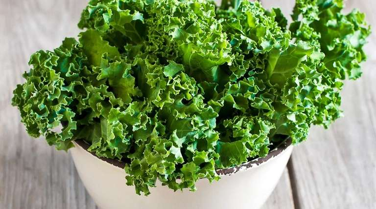 The antioxidants and zinc in greens such as
