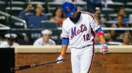 Juan Lagares #12 of the New York Mets