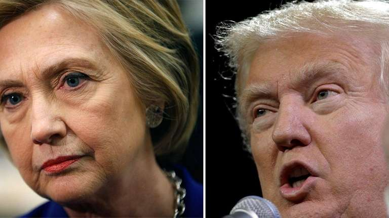 Hillary Clinton's and Donald Trump's candidacies are on