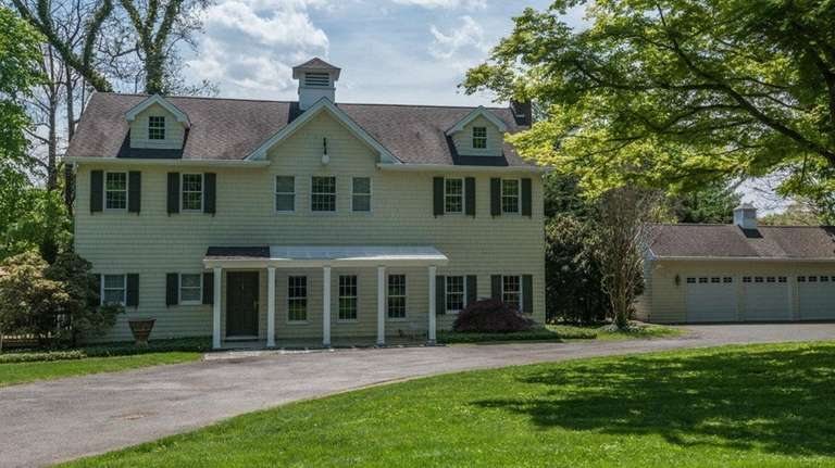 This Lattingtown home that had been converted from
