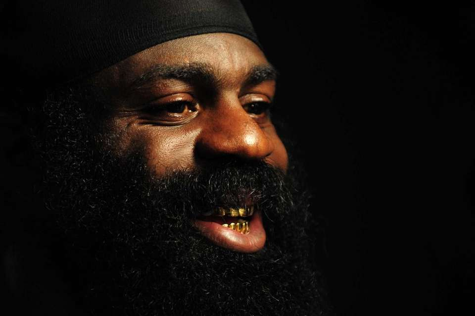 MMA Heavyweight Sensation Kimbo Slice is seen during