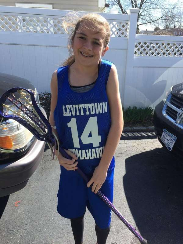Kidsday reporter Hope Sutch loves to play lacrosse.