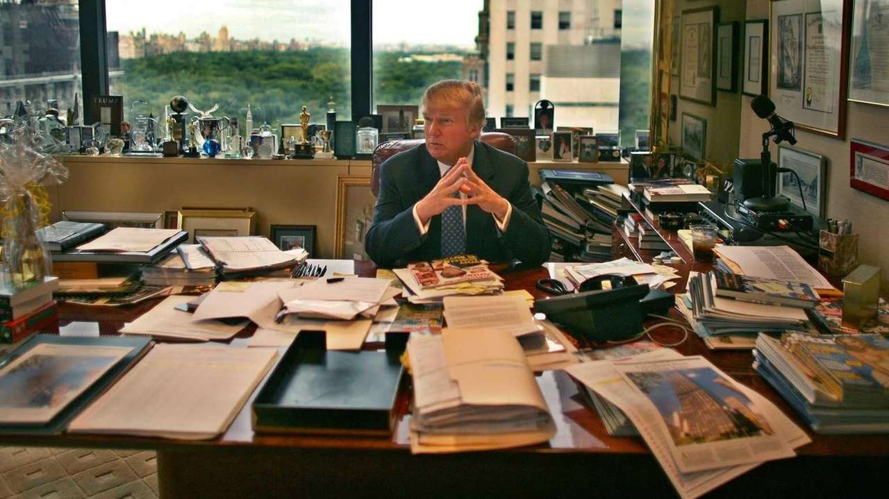 Donald Trump loves to talk about Trump Tower,
