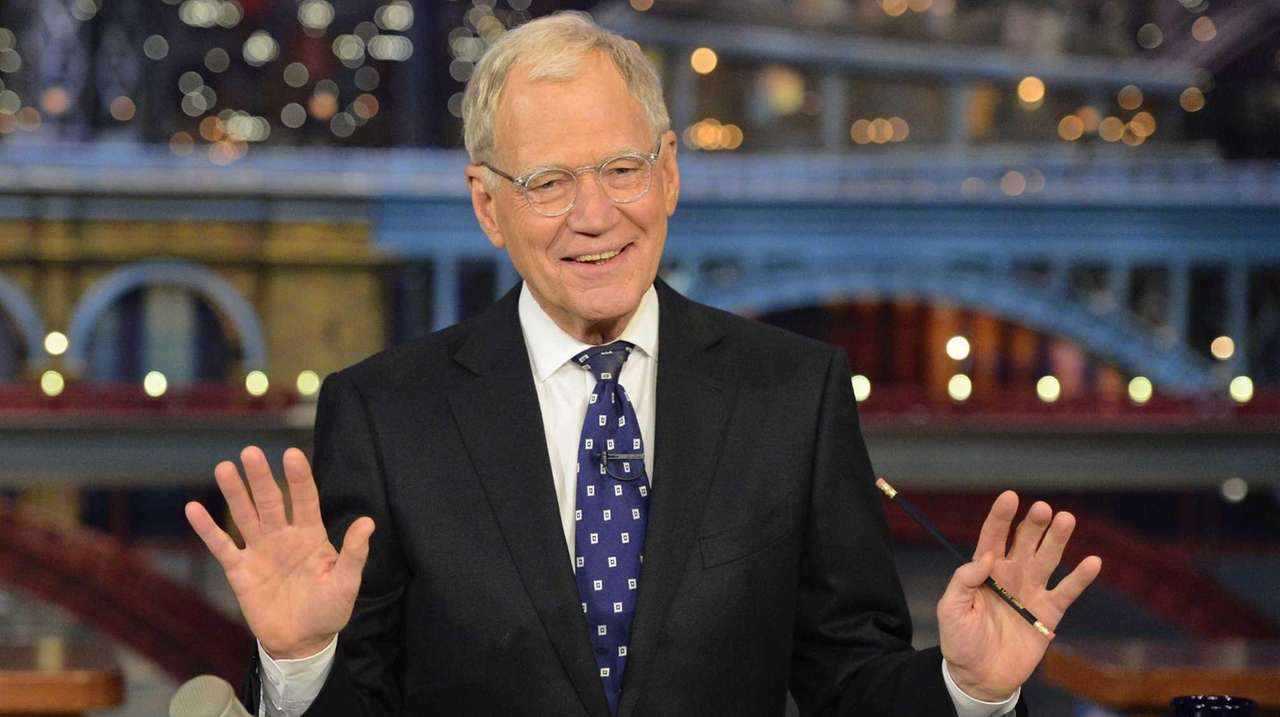 David Letterman is set to be interviewed by