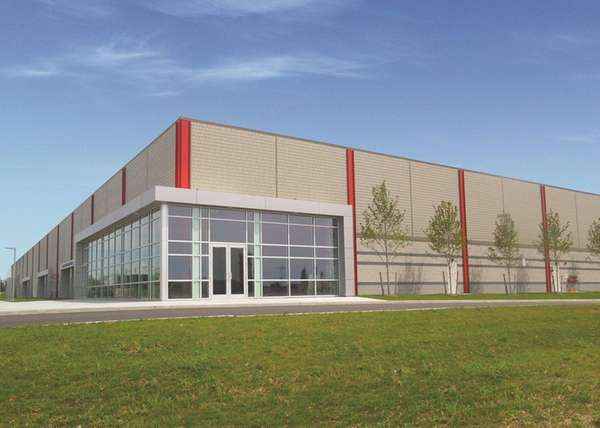 The first of nine buildings planned for a