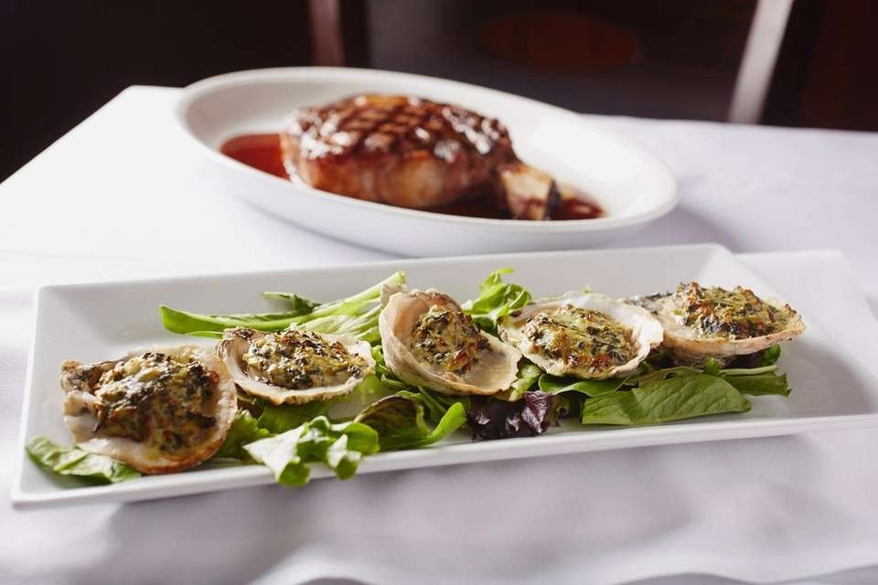 The Oysters Rockefeller, Prime 23, Freeport Nautical Mile,