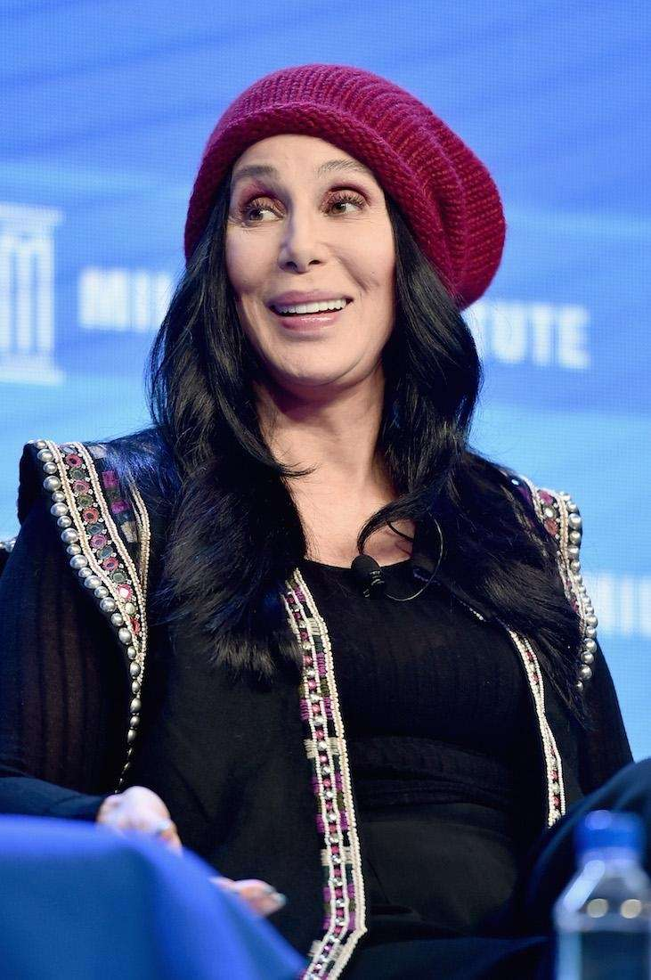 Similar to the Mark McGrath hoax, Cher fell