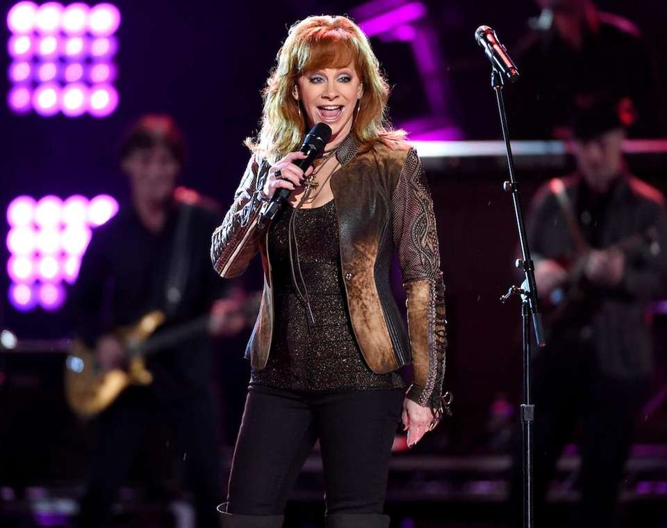 Country singer Reba McEntire was victim to a