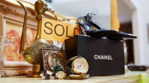Chanel shoes and watches at a Full of