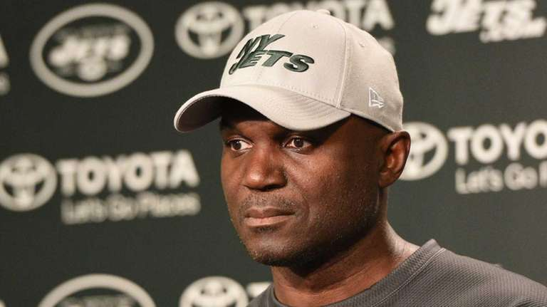 New York Jets head coach Todd Bowles answers