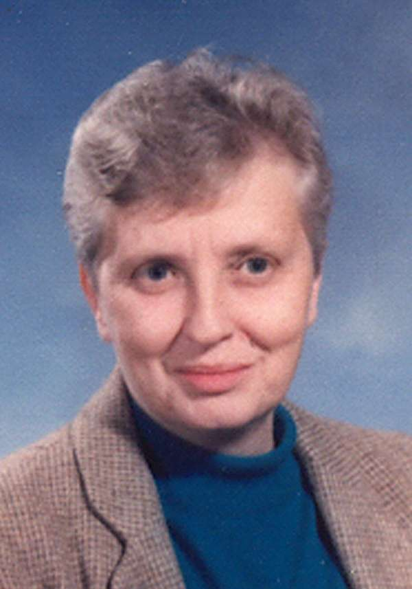 Sister Joyce Osgood of the Sisters of St.