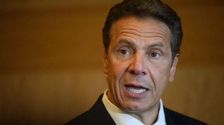 New York State Gov. Andrew M. Cuomo speaks