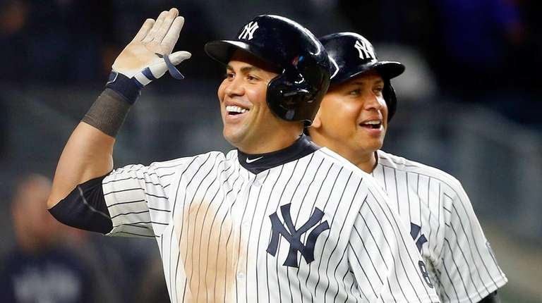 Carlos Beltran #36 of the New York Yankees