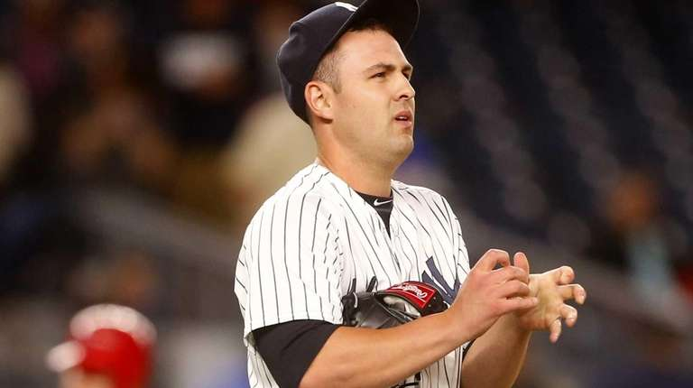 Nick Goody #41 of the New York Yankees