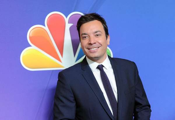 Jimmy Fallon attends an NBC event in Manhattan