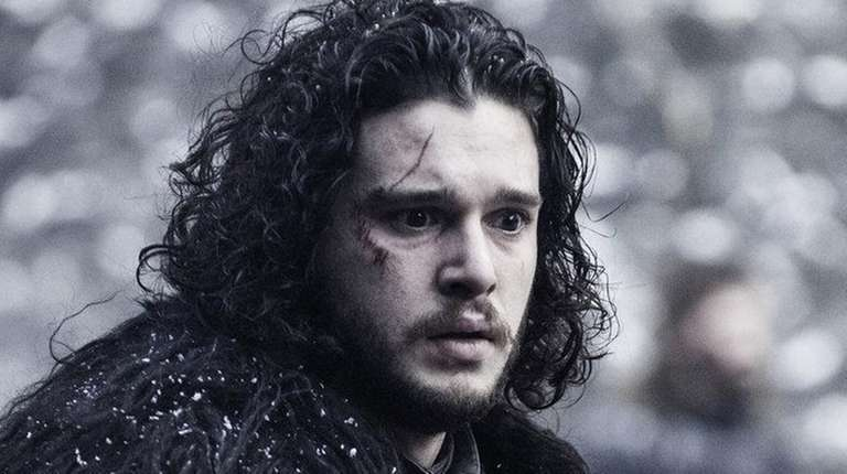 Poor battered Jon Snow, played by actor Kit