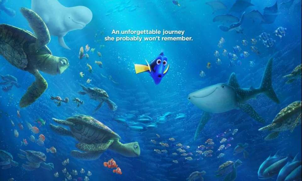 Ellen DeGeneres is back voicing Dory and Albert