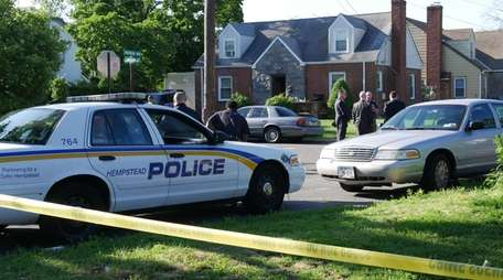 Nassau County and Hempstead Village police are investigating