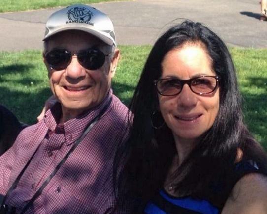 Daniel Rosenson of Long Beach and daughter Jane