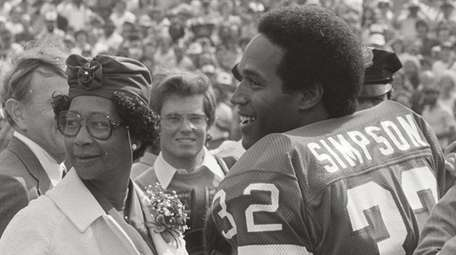 American football star O.J. Simpson featured in ESPN's