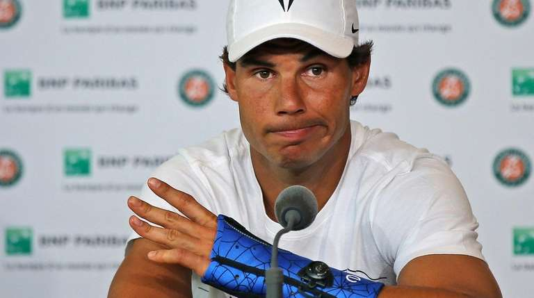 Rafael Nadal announces he is pulling out of