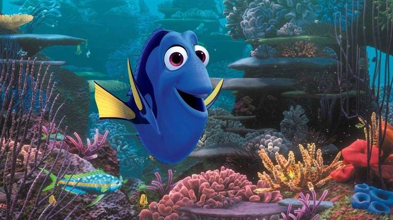 Dory is looking for her parents in Disney's