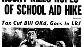 Newsday cover from February 26, 1964: Cassius Clay