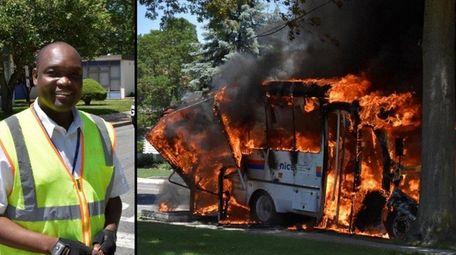 Plainview fire officials credit NICE driver Jean Jeune
