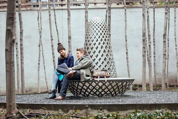 Ethan Hawke and Greta Gerwig in