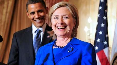 President Barack Obama and Hillary Clinton might be