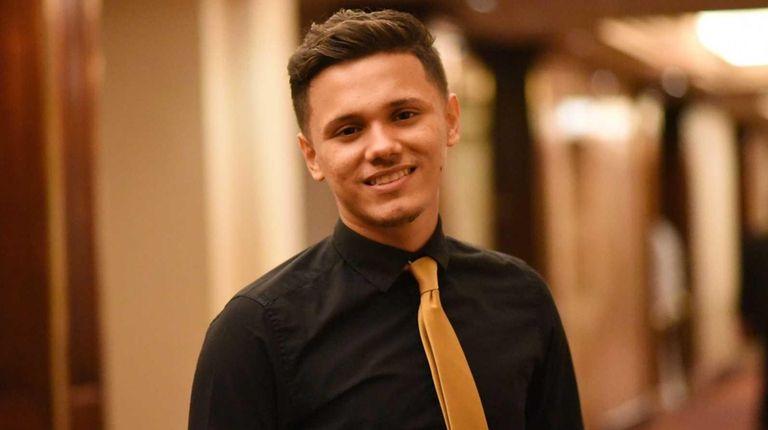 Anthony Martinez Benitez, 17, a Hempstead High School