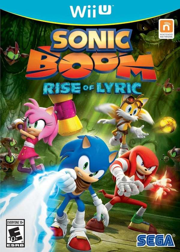 Sonic Boom: Rise of Lyric is published by
