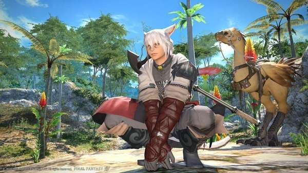 A scene from Final Fantasy XIV: A Realm