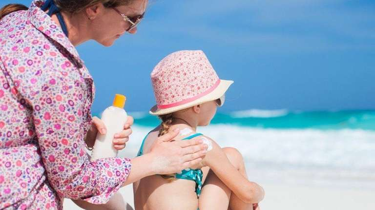 A new list of sunscreen recommendations for kids