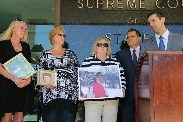 Advocates Sharon Sieczkowski, Janice Talento and Teri Kroll