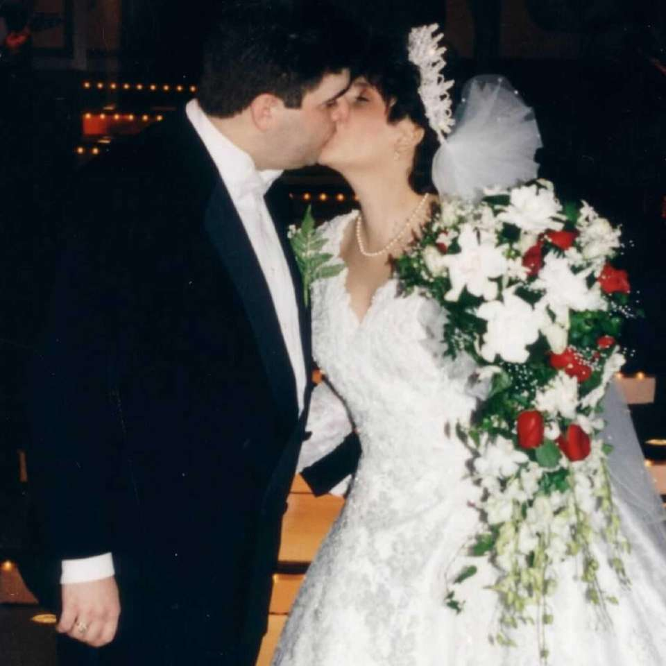 The day I married my love, on Oct.