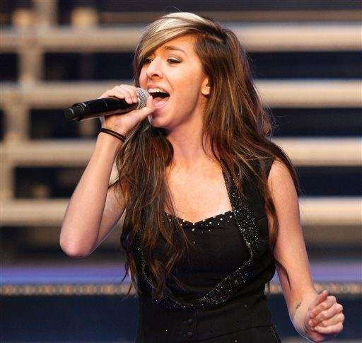 Christina Grimmie (March 12, 1994 -- June 10,