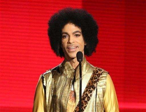 In this Nov. 22, 2015 file photo, Prince