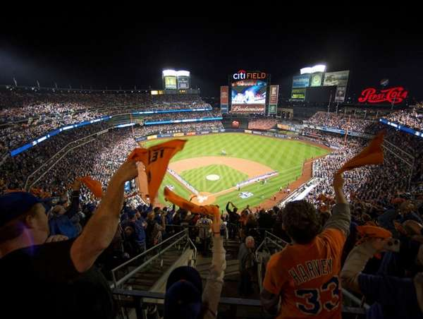 The start of a Mets game against the