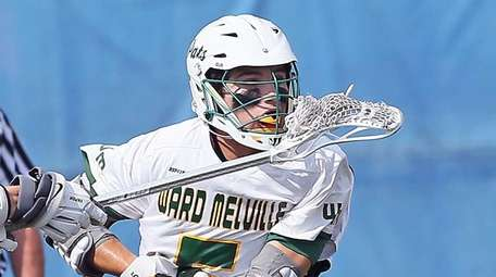 Ward Melville's Dominic Pryor scores during the New