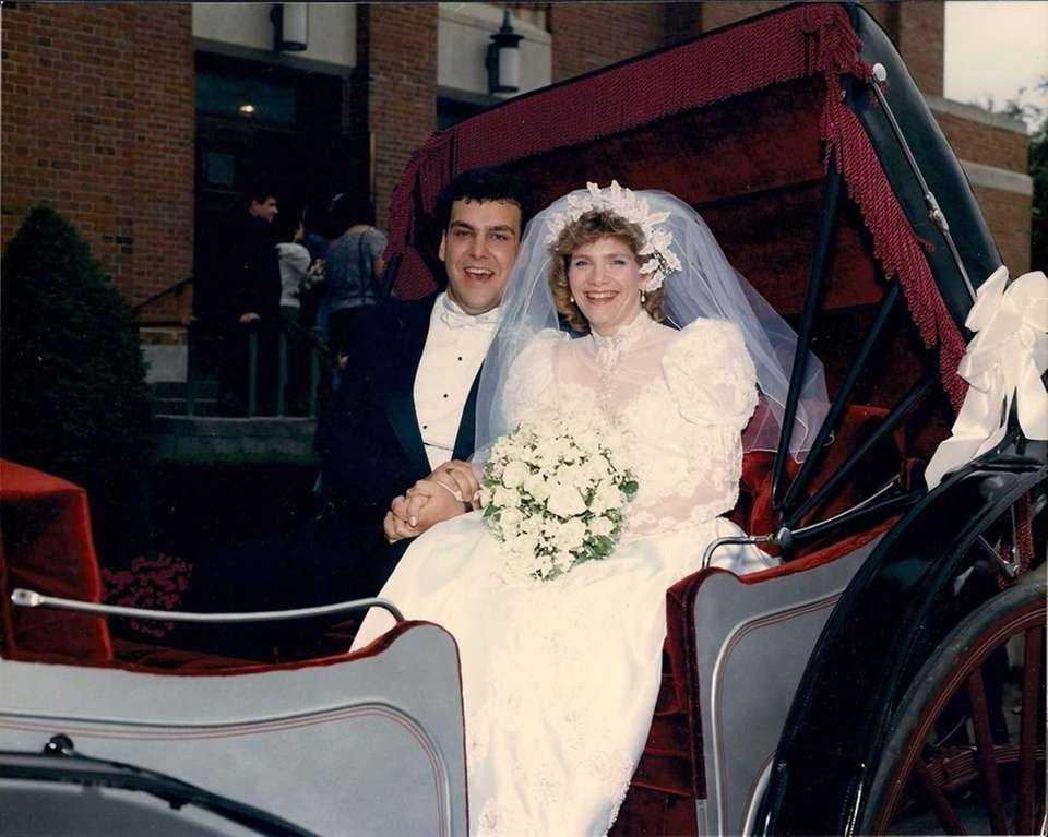 Marty and Margaret Dolley, on Sept. 12, 1987.