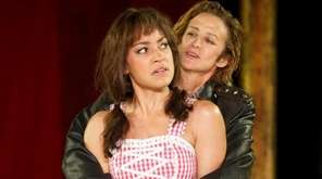 Cush Jumbo and Janet McTeer play couple Katherina