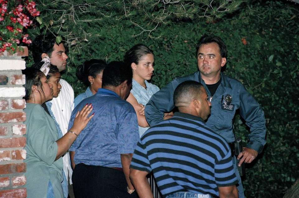 Unidentified family members of O.J. Simpson await clearance