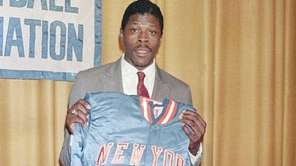 Patrick Ewing is shown at the NBA Draft