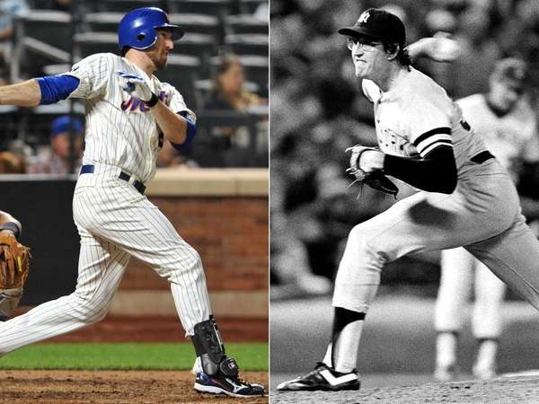 Ron and Ike Davis both played in New