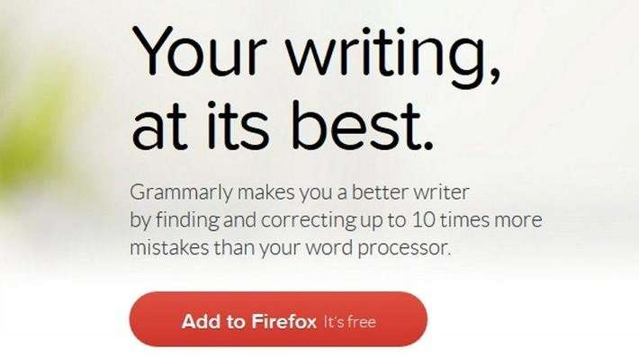 Grammarly will check your web writing, including emails