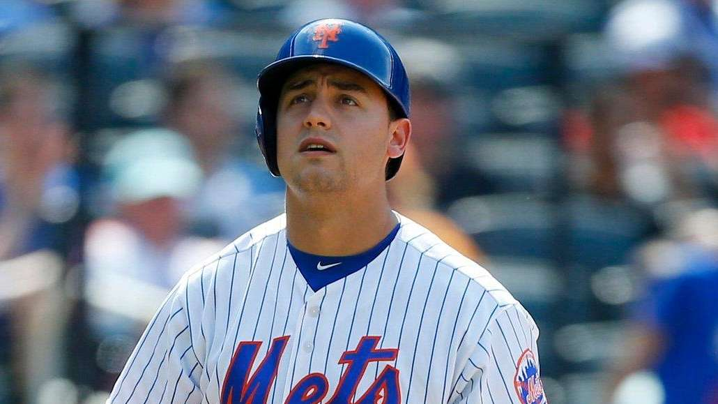 Michael Conforto of the New York Mets after