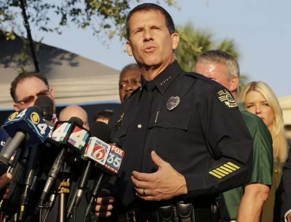 Orlando Police Chief John Mina describes the details