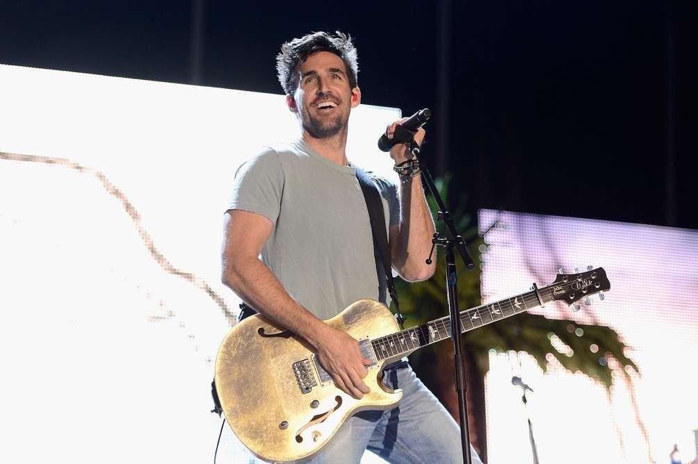 Musician Jake Owen performs during day 3 of