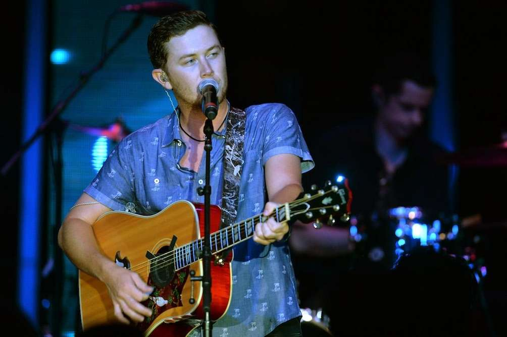 Scotty McCreery performs during day 3 of the